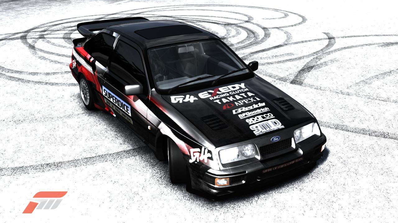 Sierra Sierra Racing Ford Sierra Racing